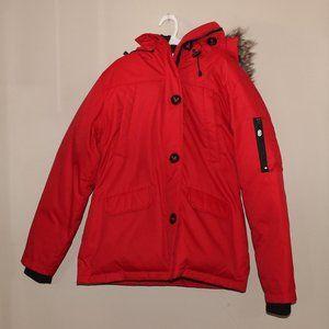 Ecko Winter Jacket Women M/M Red